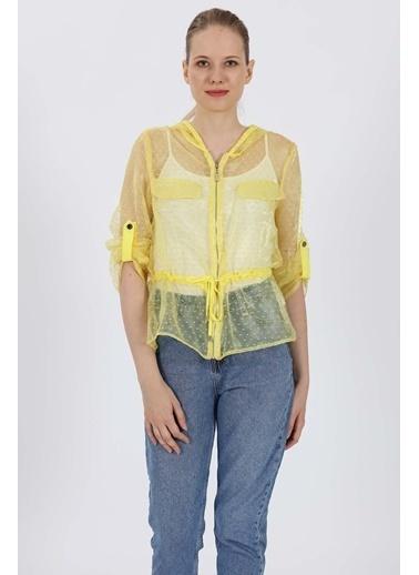 Vitrin Ceket Sarı